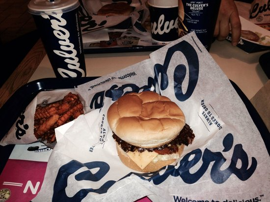 Awesome fast food at Culver's!