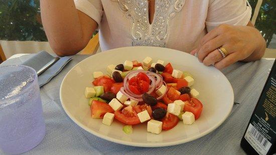 Bagno Vasco: insalata greca