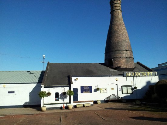 The Moorcroft Factory and museum