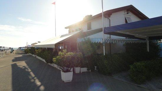 Bagno Vasco: entrata stabilimento