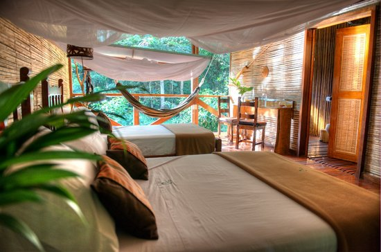 Refugio Amazonas: Superior room - bedroom