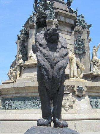 Monumento a Cristoforo Colombo : Detalle