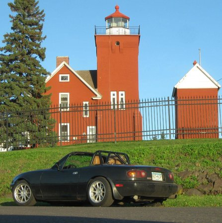Minnesota's North Shore Scenic Drive: We stayed at this B&B in two harbors