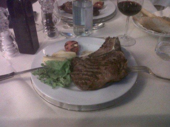 Hotel Villa Stanley: bistecca