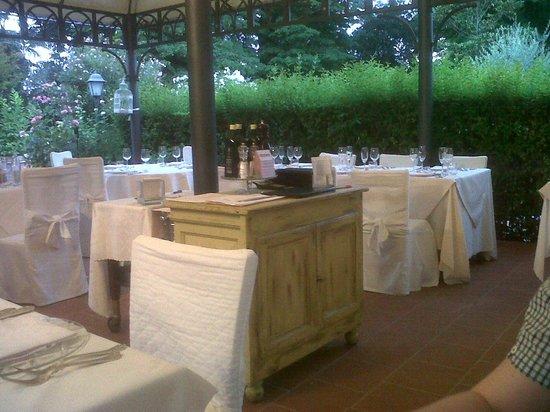 Hotel Villa Stanley: ristorante all'aperto