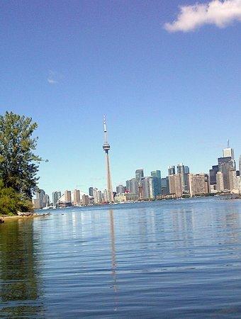 Parc des Îles de Toronto : Downtown view from Toronto Island