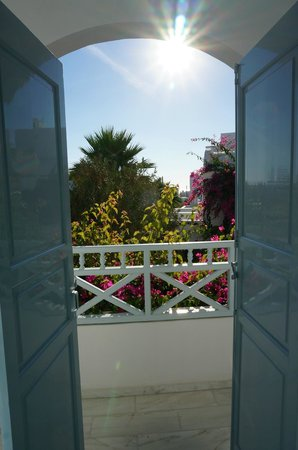Santorini Kastelli Resort: balcony