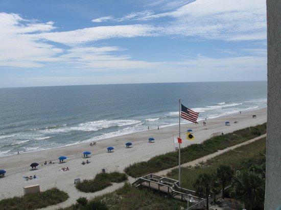 Hampton Inn & Suites Myrtle Beach/Oceanfront: 6th floor view