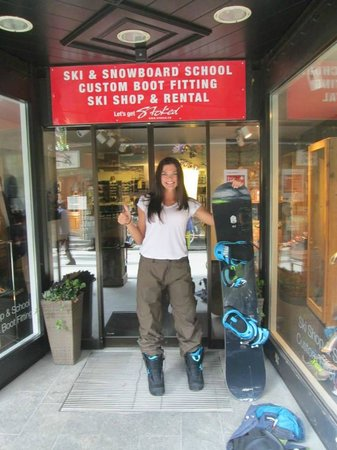 Stoked Swiss Ski and Snowboard School: Best day thanks to Stoked!