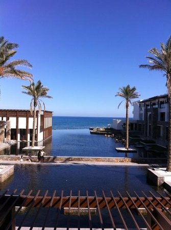 Amirandes, Grecotel Exclusive Resort: lagoon view oct 2013