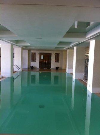 Amirandes, Grecotel Exclusive Resort: indoor pool oct 2013