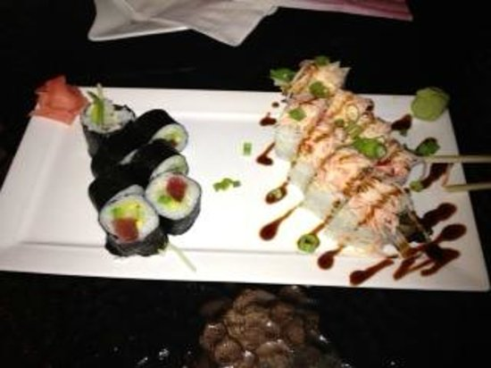 The Pool Bar Roll right after I started devouring it