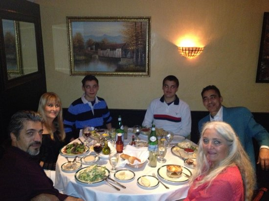 Empire Steak House 54th Street: Family celebration