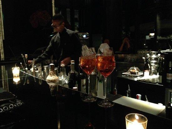 Il Ristorante: au bar du Bulgari hôtel