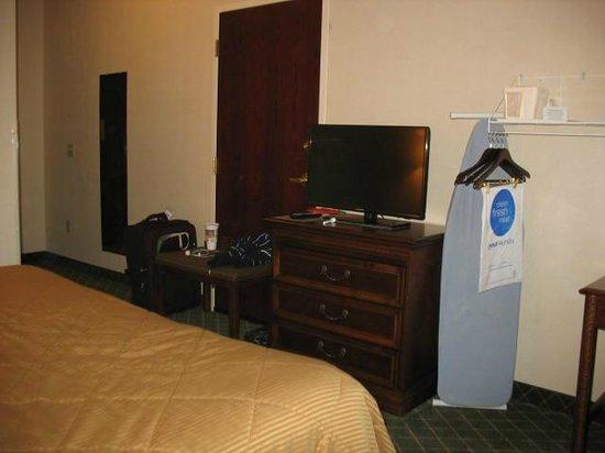 Comfort Inn East Windsor: flat screen tv