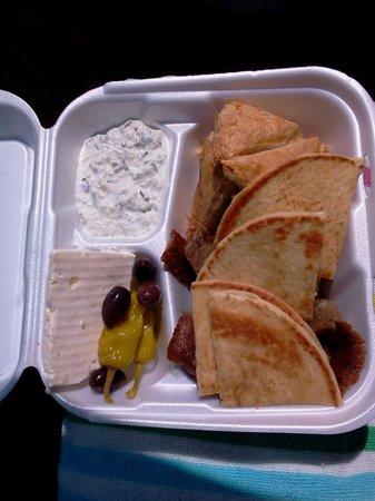 Nikis Restaurant: Greek Sampler $12.99