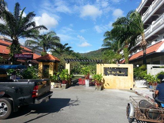 The Old Phuket Hotel fromthe Serene wing
