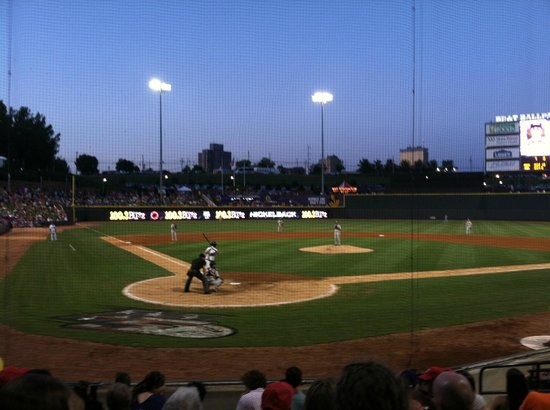 BB&T Field: BB&T Ball field in Winston-Salem, NC