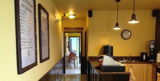 Doktor Luke's : coffee bar area