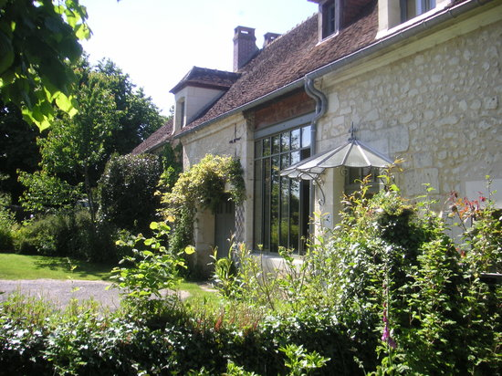 La Maison d'Hector : Façade sud / côté jardin d'hiver