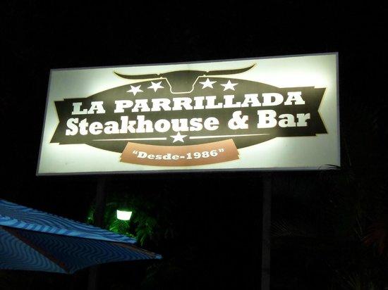 La Parrillada Steak House : La Parrillada
