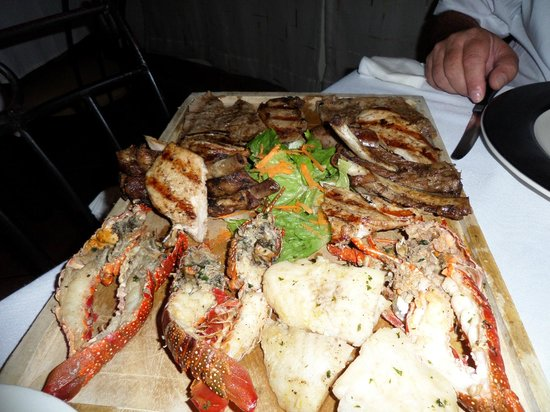 La Parrillada Steak House : Surf and Turf (for 2)