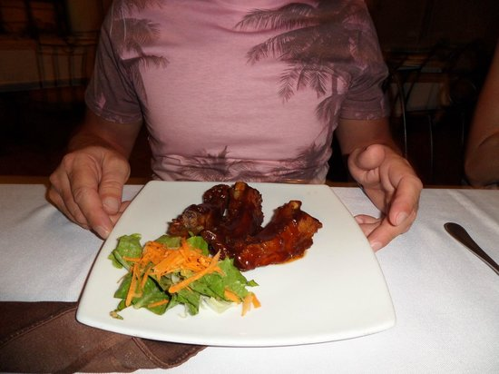 La Parrillada Steak House : Spare ribs
