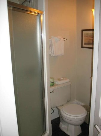 Thayers Inn: Small bathroom