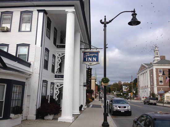 Thayers Inn: From the street