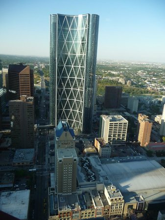 Shangarry Bed and Breakfast : Calgary from the Tower
