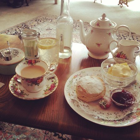 Taylors: Tea and scones. Perfection.