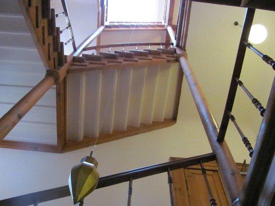 Arte Luise Kunsthotel: Escada de acesso aos quartos