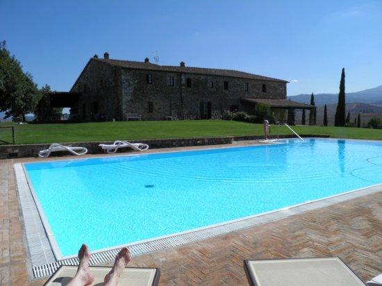 Poggio Covili : Farm House and Pool