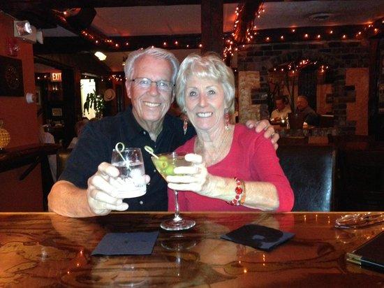 Bailiwicks Fine Restaurant: Cheers!