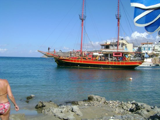 Palm Bay Hotel : Pirate ship