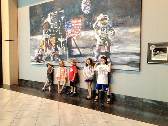 Tellus Science Museum : Five of our grandchilden