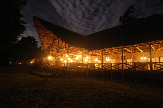 Tambopata Research Center: TRC at night
