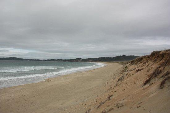 Playa A Lanzada: Praia da Lanzada, desierta