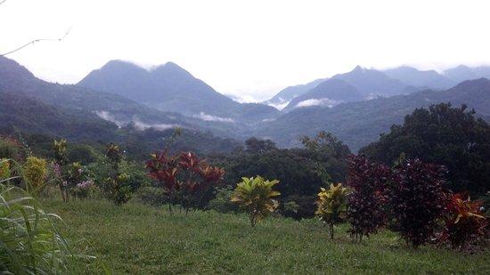 Hotel Restaurant Anachoreo: View of the mountains
