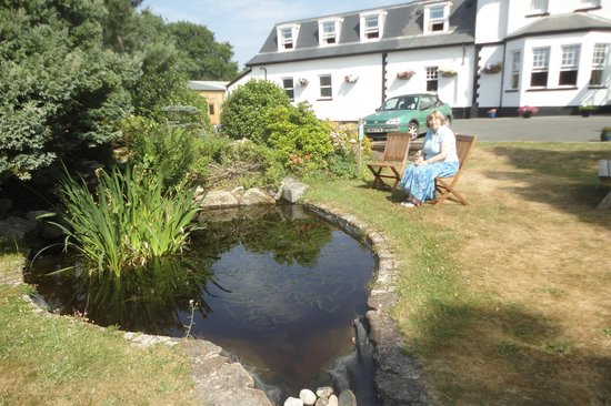 Ilsington Country House Hotel: Not the Spa pool!