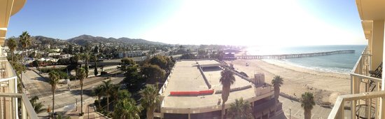 Crowne Plaza Ventura Beach : View from the 10th Floor