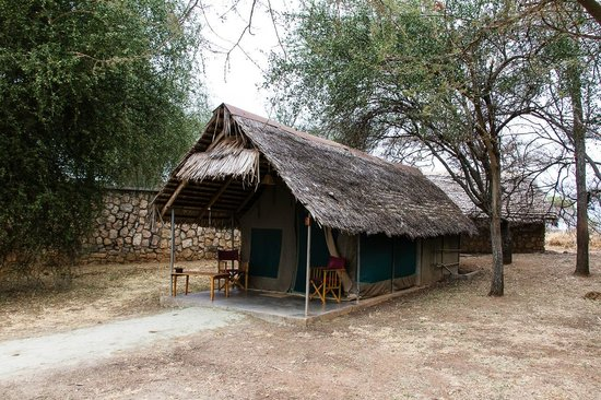 Tarangire Safari Lodge: Our tent.