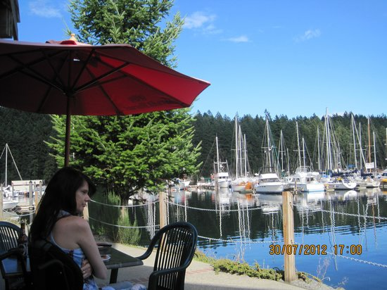 Beefeaters Chop House and Grill: view from sunny deck