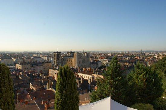 Villa Florentine: vue sur la Cathedrale St Jean