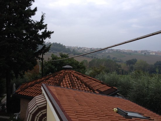 B&B Il Giardino: View from our room