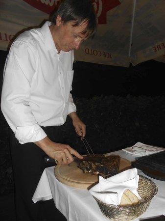 Toscana Grill: Preparation of Fiorentina
