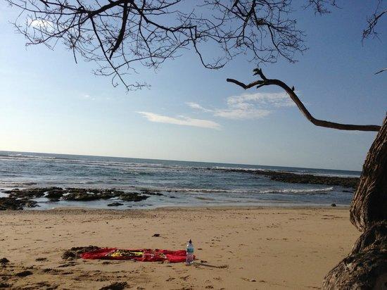 Playa Avellana: clear skies