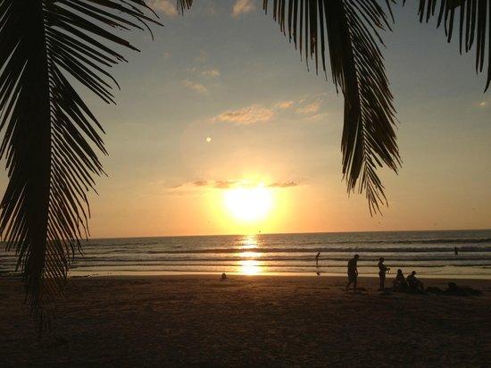 Playa Avellana: Sun down!