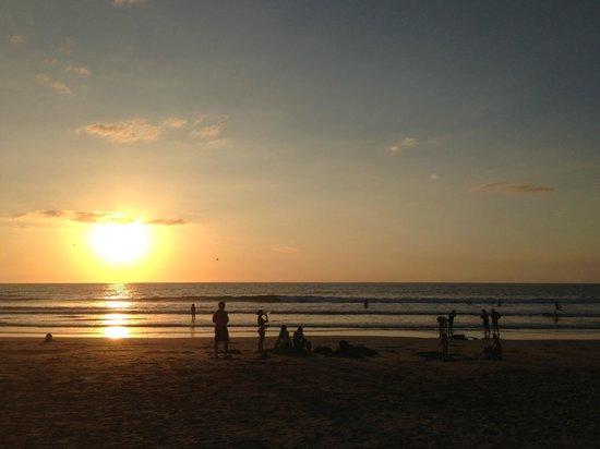 Playa Avellana: Sunset