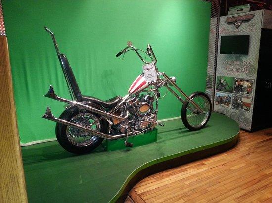 Harley Davidson Las Vegas Cafe: display